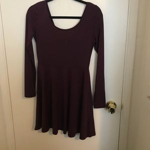EUC Cute plum dress SZ M by H&M Divided
